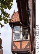 Купить «historical oriel fachwerkhaus rendsburg building», фото № 10922854, снято 23 мая 2019 г. (c) PantherMedia / Фотобанк Лори