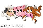 Купить «Farm animals topic image 1», иллюстрация № 10974854 (c) PantherMedia / Фотобанк Лори