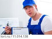 Купить «service expensive craftsman plumber tradesman», фото № 11014138, снято 20 июля 2019 г. (c) PantherMedia / Фотобанк Лори