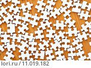 Купить «Puzzle pieces», фото № 11019182, снято 21 сентября 2019 г. (c) PantherMedia / Фотобанк Лори