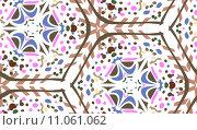 Купить «Seamless Geometric Background», иллюстрация № 11061062 (c) PantherMedia / Фотобанк Лори