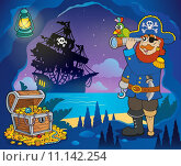 Купить «Pirate cove theme image 3», иллюстрация № 11142254 (c) PantherMedia / Фотобанк Лори