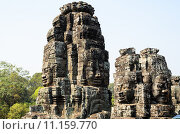 Купить «Байон, часть храмового комплекса Ангкор, Камбоджи», фото № 11159770, снято 19 июня 2018 г. (c) Сергей Петерман / Фотобанк Лори