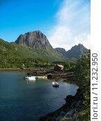 Купить «Landscape in the Lofoten islands», фото № 11232950, снято 23 марта 2019 г. (c) PantherMedia / Фотобанк Лори