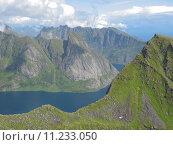Купить «Landscape in the Lofoten islands», фото № 11233050, снято 23 марта 2019 г. (c) PantherMedia / Фотобанк Лори