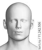 Купить «3d rendered illustration - white male head», фото № 11242506, снято 23 июля 2018 г. (c) PantherMedia / Фотобанк Лори