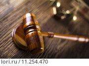 Купить «Judge gavel», фото № 11254470, снято 21 августа 2018 г. (c) PantherMedia / Фотобанк Лори