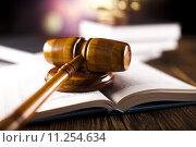 Купить «Judge gavel», фото № 11254634, снято 17 января 2019 г. (c) PantherMedia / Фотобанк Лори