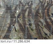 Купить «Railroad network», фото № 11286634, снято 23 февраля 2019 г. (c) PantherMedia / Фотобанк Лори