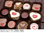 Купить «chocolate candies», фото № 11299786, снято 26 марта 2019 г. (c) PantherMedia / Фотобанк Лори