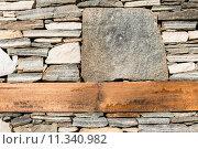 Купить «Wall built of stones. Sun light», фото № 11340982, снято 15 декабря 2018 г. (c) PantherMedia / Фотобанк Лори