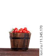 Купить «Fresh tomatoes», фото № 11345170, снято 15 октября 2019 г. (c) PantherMedia / Фотобанк Лори