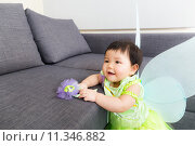 Купить «Asian baby girl with halloween party dressing», фото № 11346882, снято 17 июля 2018 г. (c) PantherMedia / Фотобанк Лори