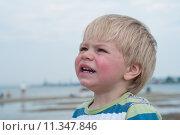 Купить «Portrait of boy in striped t-hirt», фото № 11347846, снято 24 января 2019 г. (c) PantherMedia / Фотобанк Лори