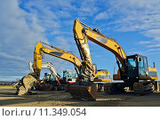 Купить «construction site dredger baggerschaufel baufahrzeug», фото № 11349054, снято 19 марта 2019 г. (c) PantherMedia / Фотобанк Лори