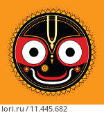 Купить «Jagannath. Indian God of the Universe.», иллюстрация № 11445682 (c) PantherMedia / Фотобанк Лори