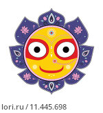 Купить «Jagannath. Indian God of the Universe.», иллюстрация № 11445698 (c) PantherMedia / Фотобанк Лори