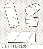 Купить «Toilet Tissue Tubes», иллюстрация № 11472554 (c) PantherMedia / Фотобанк Лори