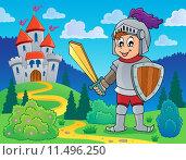 Купить «Knight theme image 1», иллюстрация № 11496250 (c) PantherMedia / Фотобанк Лори