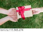 Купить «Подарок», фото № 11565274, снято 18 августа 2015 г. (c) Захар Гончаров / Фотобанк Лори