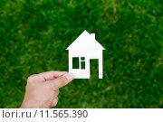 Купить «Недвижимость», фото № 11565390, снято 2 августа 2015 г. (c) Захар Гончаров / Фотобанк Лори