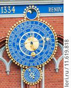 Купить «Astronomical clock», фото № 11619818, снято 21 сентября 2018 г. (c) PantherMedia / Фотобанк Лори