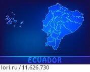 Купить «card map atlas ecuador ecuadorkarte», фото № 11626730, снято 24 ноября 2017 г. (c) PantherMedia / Фотобанк Лори