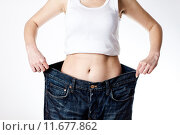 Купить «Successful Weight Loss», фото № 11677862, снято 16 января 2019 г. (c) PantherMedia / Фотобанк Лори