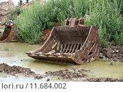 Купить «dredger baggerschaufel civil engineering erdarbeiten», фото № 11684002, снято 19 марта 2019 г. (c) PantherMedia / Фотобанк Лори
