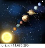 Купить «Solar system from space», иллюстрация № 11686290 (c) PantherMedia / Фотобанк Лори