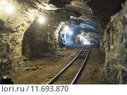 Купить «Gold mine tunnels», фото № 11693870, снято 23 марта 2019 г. (c) PantherMedia / Фотобанк Лори