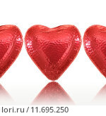 Купить «Chocolate Love Heart», фото № 11695250, снято 15 декабря 2018 г. (c) PantherMedia / Фотобанк Лори