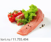 Купить «Raw pork tenderloin», фото № 11755494, снято 24 февраля 2019 г. (c) PantherMedia / Фотобанк Лори