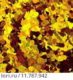 Фон из листьев. Стоковая иллюстрация, иллюстратор Алексей Елфимчев / Фотобанк Лори