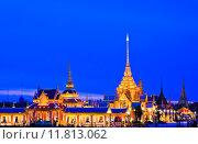 Купить «Thai Royal Crematorium at twilight in Bangkok, Thailand .», фото № 11813062, снято 23 октября 2018 г. (c) PantherMedia / Фотобанк Лори