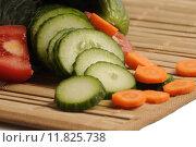 Купить «vegetable tomato carrot paprika peppers», фото № 11825738, снято 5 июля 2020 г. (c) PantherMedia / Фотобанк Лори