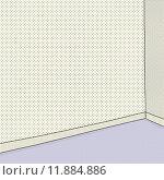 Купить «Empty Room in Halftone», иллюстрация № 11884886 (c) PantherMedia / Фотобанк Лори