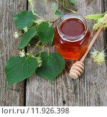 Купить «Липовый мёд», фото № 11926398, снято 27 июня 2015 г. (c) Елена Блохина / Фотобанк Лори