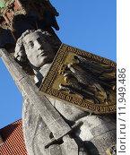 Купить «statue emblem bremen marketplace roland», фото № 11949486, снято 19 марта 2019 г. (c) PantherMedia / Фотобанк Лори
