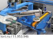 Купить «Robotic conveyor system», фото № 11953946, снято 26 мая 2020 г. (c) PantherMedia / Фотобанк Лори