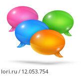 Купить «Group of speech bubbles», иллюстрация № 12053754 (c) PantherMedia / Фотобанк Лори