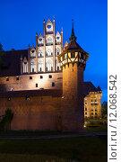 Купить «Malbork Castle, Pomerania, Poland», фото № 12068542, снято 18 октября 2019 г. (c) PantherMedia / Фотобанк Лори