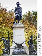 Купить «Kosciuszko Statue Lafayette Park Autumn Washington DC», фото № 12091266, снято 20 сентября 2018 г. (c) PantherMedia / Фотобанк Лори