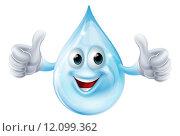 Купить «Water drop character», иллюстрация № 12099362 (c) PantherMedia / Фотобанк Лори