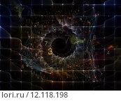 Купить «Visualization of Digital Network», фото № 12118198, снято 20 ноября 2018 г. (c) PantherMedia / Фотобанк Лори