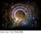 Купить «Visualization of Digital Network», фото № 12154398, снято 20 ноября 2018 г. (c) PantherMedia / Фотобанк Лори