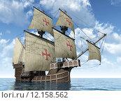 Купить «boat ship sailboat watercraft caravel», фото № 12158562, снято 19 сентября 2018 г. (c) PantherMedia / Фотобанк Лори