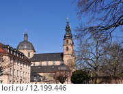 Купить «baroque abteikirche des klosters fulda», фото № 12199446, снято 10 декабря 2018 г. (c) PantherMedia / Фотобанк Лори