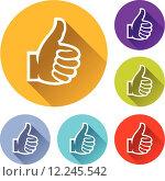 Купить «like icons», иллюстрация № 12245542 (c) PantherMedia / Фотобанк Лори
