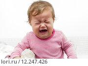 Купить «Crying Baby», фото № 12247426, снято 15 декабря 2017 г. (c) PantherMedia / Фотобанк Лори